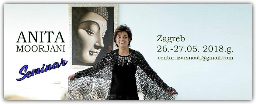 Anita Moorjani u Zagrebu 2018